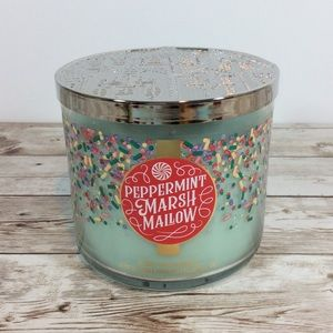 Bath &Body Works Peppermint Marshmallow Candle